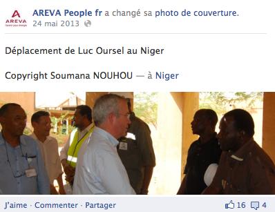 Visite du CEO au Niger