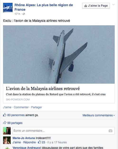 Fail RhoneAlpe MH370