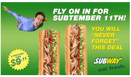 Subway Bad Buzz