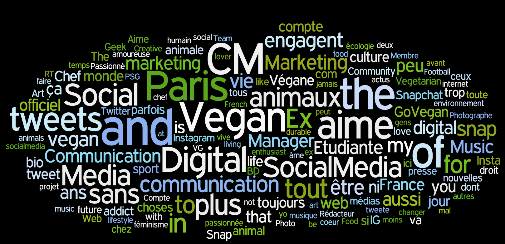 World Cloud PouletQuiTweete profils