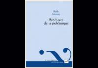 L'apologie de la polémique – Ruth Amossy