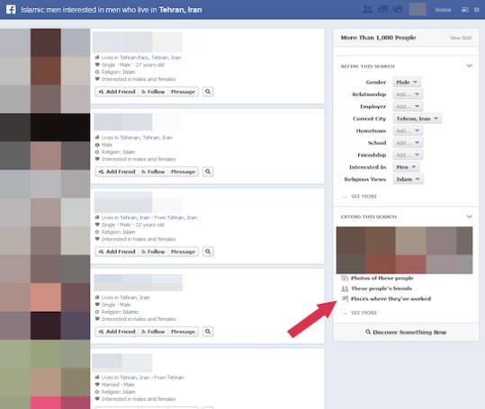 Facebook E-réputation