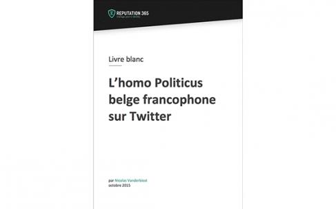 Grande étude : l'homo politicus belge francophone sur Twitter