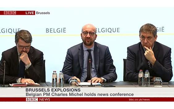 Attentat Belgique