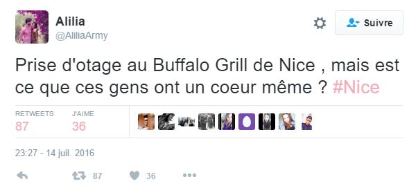 Deuxième tweet Buffalo
