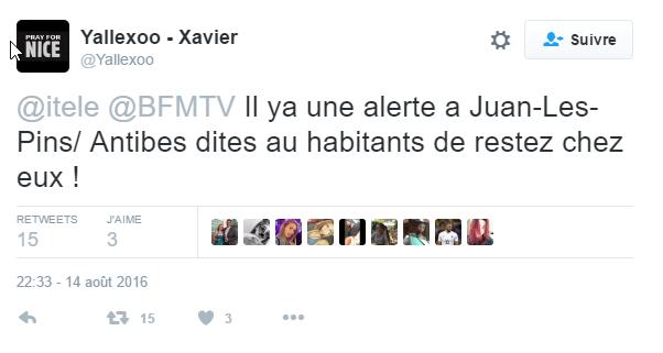 2016-08-16 12_22_10-Yallexoo - Xavier sur Twitter _ _@itele @BFMTV Il ya une alerte a Juan-Les-Pins_
