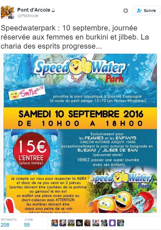 2016-08-30 10_40_34-Pont d'Arcole ن sur Twitter _ _Speedwaterpark _ 10 septembre, journée réservée a