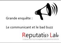Grande enquête : le communicant et le bad buzz