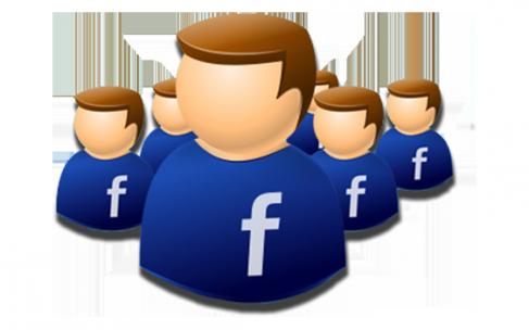 Quel est le public capté via Facebook par les principaux candidats ?
